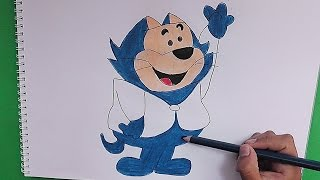 Dibujando y coloreando Benito (Gato y su Pandilla) - Drawing and coloring Benito