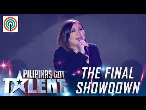 "Pilipinas Got Talent Season 5 Live Finale - ""Bituin Walang Ningning"" - Sharon Cuneta"