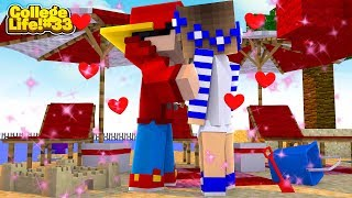 Minecraft College Life #33 - ROPO & CARLY HAVE THEIR FIRST KISS!!!