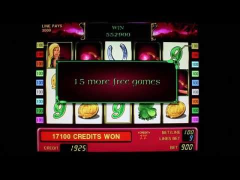 Bug for bonus (free games) - hack Novomatic slots