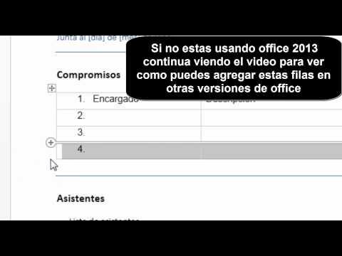 Hacer y Plantilla de Minuta Formato Excel