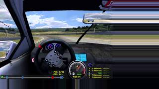 rFactor (Windows) gaming on Mac DIRECTLY with Crossover 12.