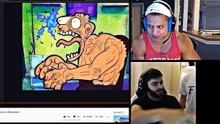 TYLER1 REACTS TO HIS APPEARANCE IN RIOT GAMES VIDEO | YASSUO ON HIS PRO SUPPORT TROLLING|LOL MOMENTS