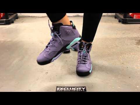 Rétro (gg) De Fer Violet Air Jordan 6 Buty