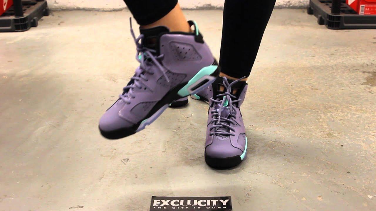Air Jordan 6 Retro Fer Violet 6 Gg