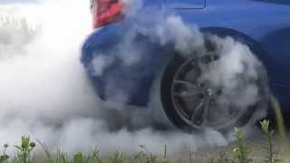 BMW M235i Coupe burnout in slow motion   ExoticCars.pl