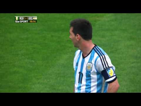 Lionel Messi vs Nigeria (FIFA World Cup 2014) HD 720p [SPECIAL EDITION]
