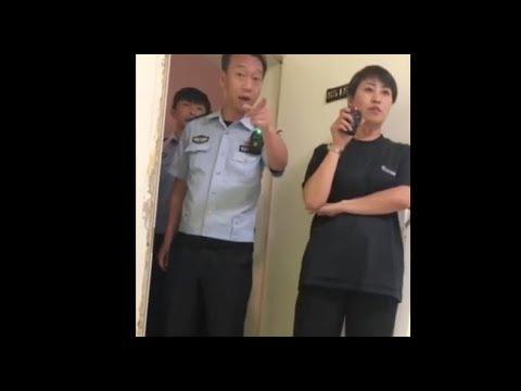 P2P受害者进京维权 半夜警察踹门查房传唤