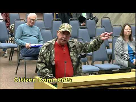 Guy Has Meltdown At City Council Meeting 2! Must See!