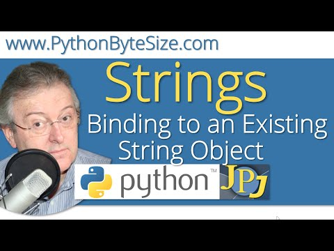 Binding to an Existing String Object