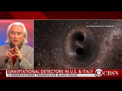 Michio Kaku - Gravitational Wave Telescopes
