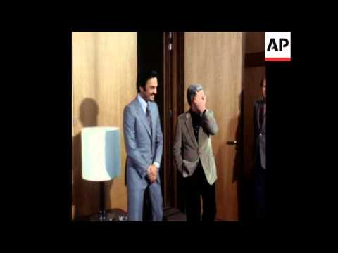 SYND 20 1 79 SAUDI FOREIGN MINISTER AL-FAISAL MEETS WEST GERMAN CHANCELLOR SCHMIDT