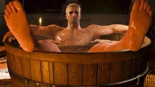 Kaer Morhen: Lobster to Your Balls! Geralt, Yennefer and Ciri (Witcher 3 | Quest)