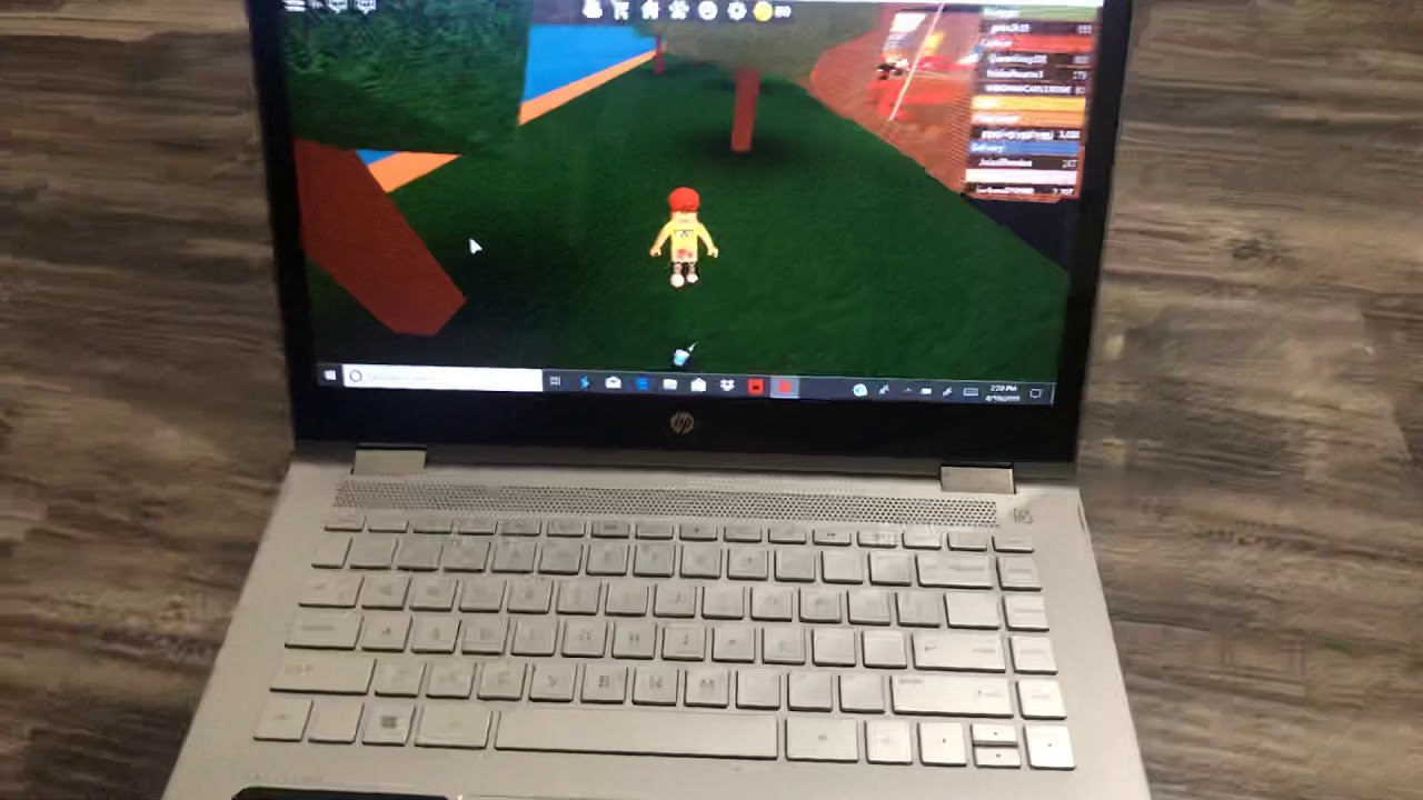 How To Play Roblox On A Laptop With No Mouse Remake Video Youtube