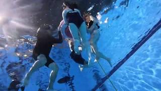 【FIM攀繩下潛的技巧,上課實況影片】