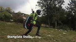 Gleitschirmfliegen in Bassano 2016