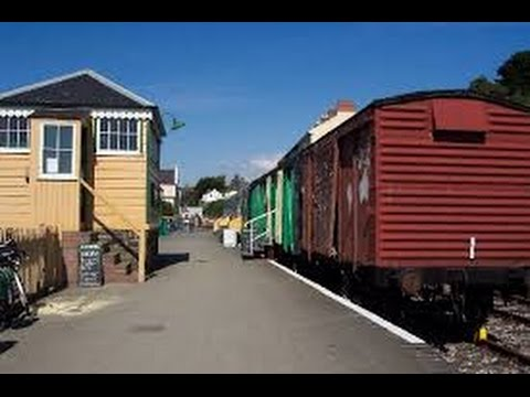 Old Bideford Train Station, Tarka Trail, North Devon, UK