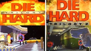 Die Hard Trilogy 1 & 2 (PS1) with Aimtrak Lightgun on ePSXe