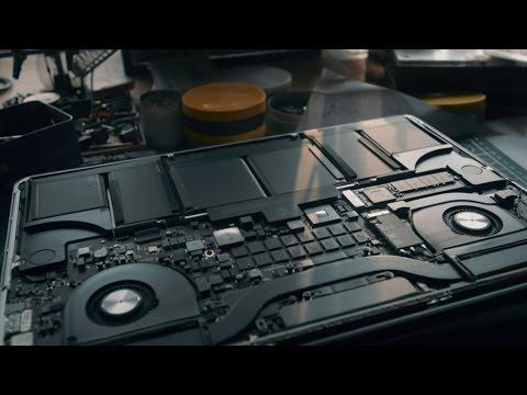 MacBook Pro Retina Dust Cleaning