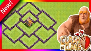"Clash of Clans - Cv7 Layout anti estrelas ? ""TH7 Anti Stars"" 2018"