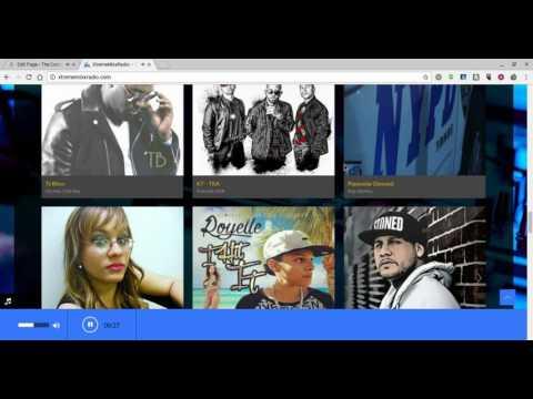 Online Radio Station Web Design