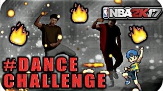 NBA 2K17  MOST LIT DANCE CHALLENGE! Hott Headzz   Hmmm Part 2