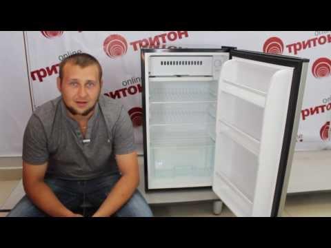 видео: Холодильник shivaki shrf-100 chp