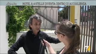 Hotel a 4 stelle diventa centro di accoglienza