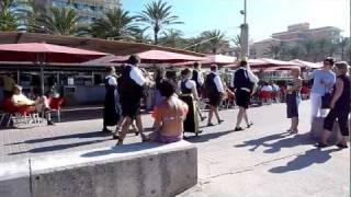 Ballermann 6 Mallorca Strand Blaskapelle Promenade (TV.NEWS-on-Tour.de)