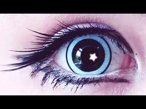 Super Big Anime Kawaii Eyes Tutorial