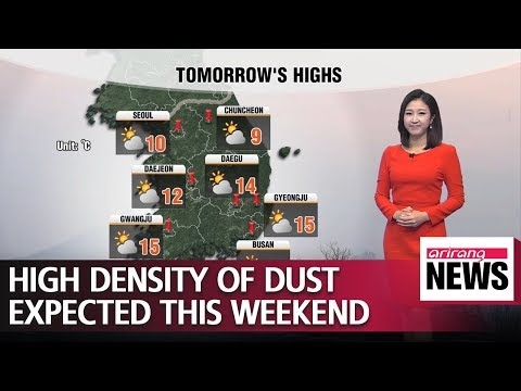 High density of dust expected this weekend _ 122118