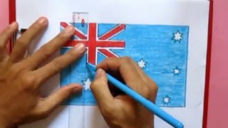How to draw Australia flag
