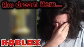 i've tried to get this roblox item for 12 YEARS...