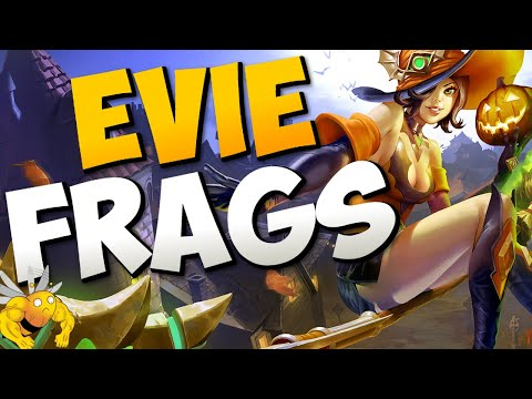 Paladins Pro | FRAGGING WITH EVIE (Blink And SnowGlobe)