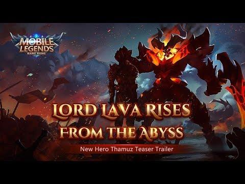 Lava Lord Rises | New Hero | Thamuz Trailer | Mobile Legends: Bang Bang! thumbnail