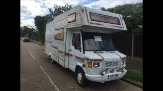 MERCEDES FOSTER & DAY MOTORHOME FOR SALE ON EBAY NOW!