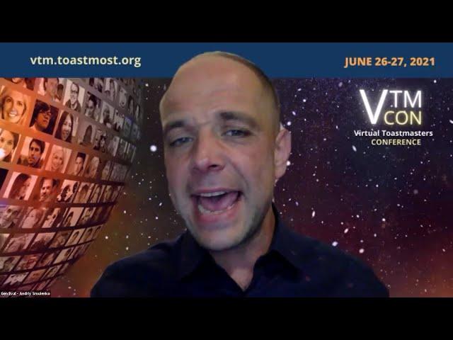 May 24, 2021 Online Presenters Toastmasters