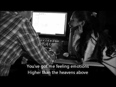 Ariana Grande - Emotions (  w/ Lyrics On Video )
