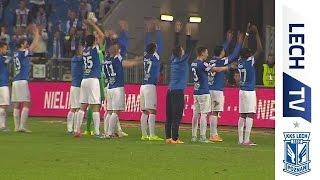 Kulisy meczu Lech Poznań - GKS Bełchatów: Piękny wieczór przy Bułgarskiej!