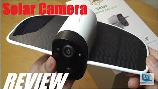 REVIEW: Soliom S60 Solar Powered Security Camera (Wi-Fi)