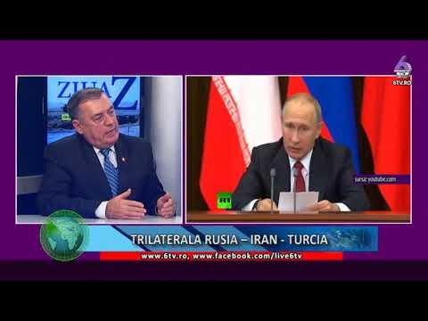 ZIUA Z  TRILATERALA  RUSIA- IRAN-TURCIA 2017 11 23