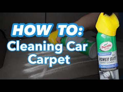 how to get carpet clean