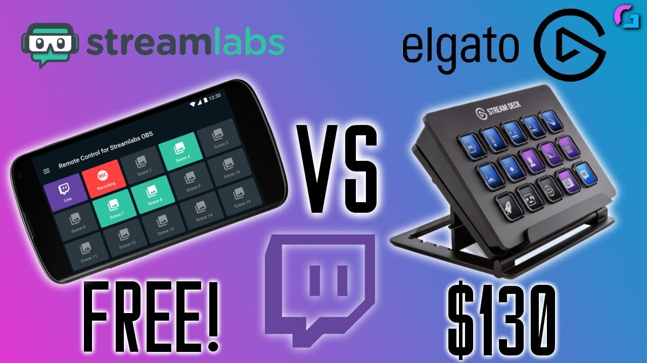 FREE STREAM DECK by STREAMLABS?! (SLOBS Remote Control) by Colesy