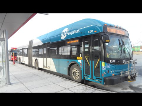 Mississauga Miway Transit New Flyer D60lfr 1070 Youtube