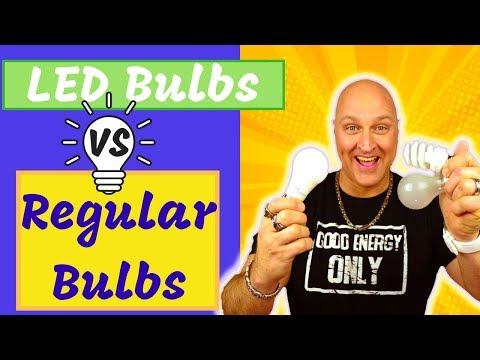 LED Bulbs VS Regular Bulbs (Save Money on Energy Bills)