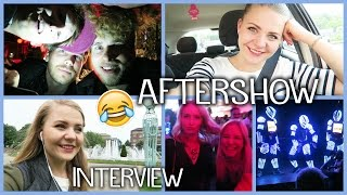 GNTM AFTERSHOWPARTY, ZDF Interview & LASERSHOW in Darmstadt