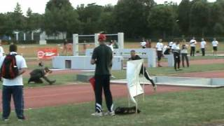 military pentathlon obstacle course best runner