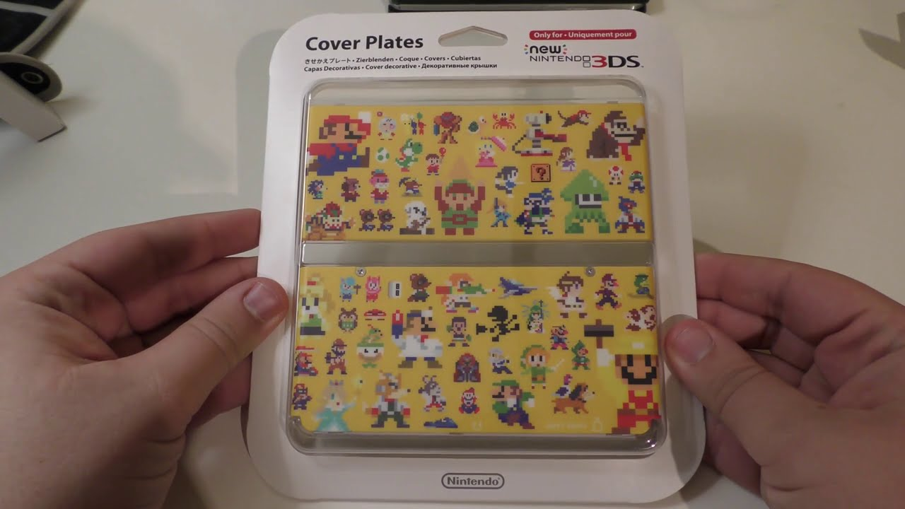 Unboxing] Super Mario Maker & Yoshi New 3DS Covers - YouTube