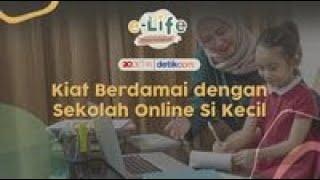 Kiat Berdamai dengan Sekolah Online Si Kecil