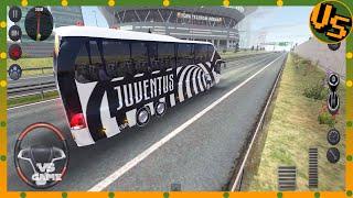 JUVENTUS FOOTBALL TEAM BUS DRIVE IN TURKEY Bus Games Bus Simulator Ultimate Android Gameplay